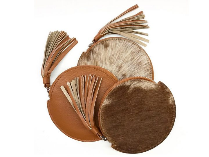 Introducing Annabelle, stylish cowhide purse!