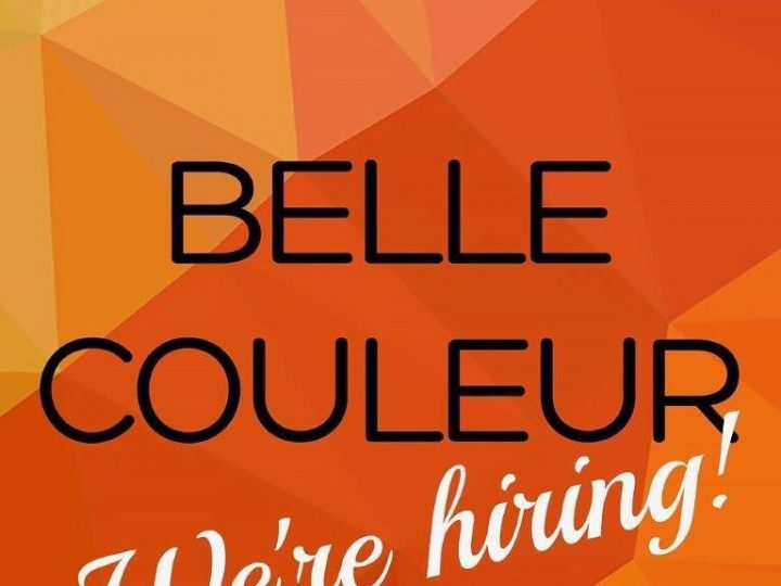 Ready for Christmas! Belle Couleur is now hiring